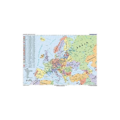 Mapa Polityczna Europy Stan Na 2019 200x150 Cm Pomoce Szkolne