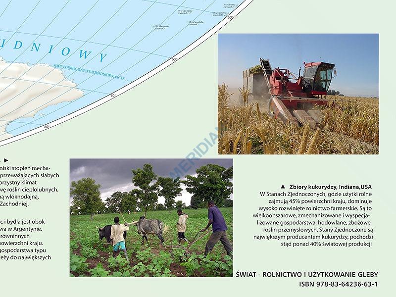 Mapa Gospodarcza Swiata Rolnictwo I Uzytkowanie Gleby 2012